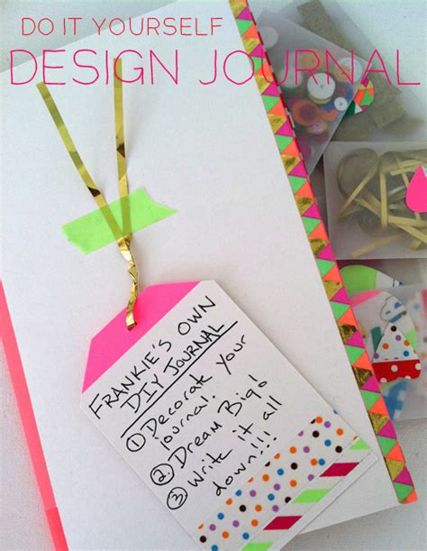 design journal journals diy design journal meri cherry