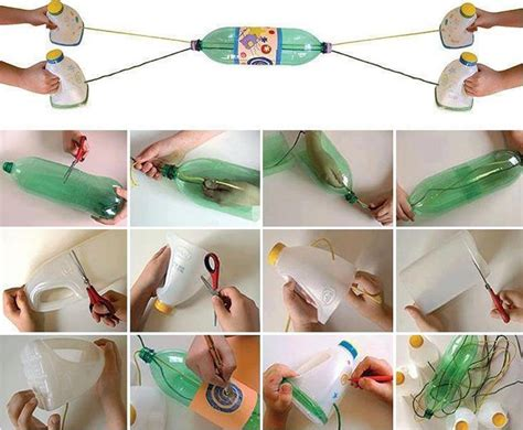 Handmade Childrens Toys - diy pet bottle children fabdiy