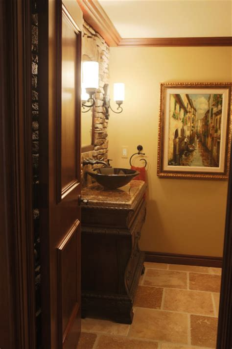 tuscan themed bathroom tuscan style traditional bathroom detroit by