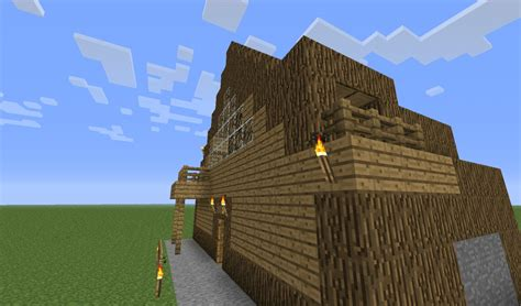 minecraft log house log house minecraft project