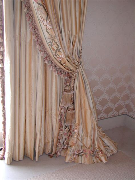 Curtains With Tassels 722 Best Windows Drapes Tassels Images On Window Dressings Curtains And Fabrics