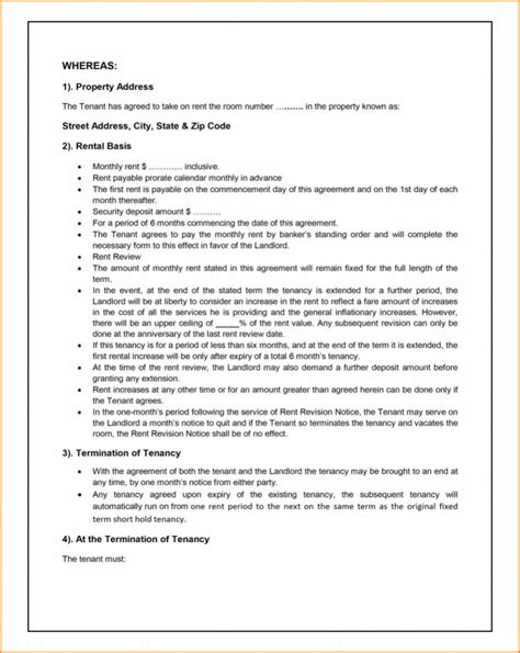 Tenant Agreement Template 75 Main Group Sourcing Agreement Template