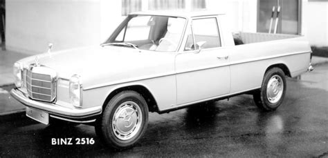 mercedes benz pick up truck diesel small truck made to order this pickup was built by binz
