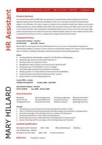 HR Assistant CV template purchase