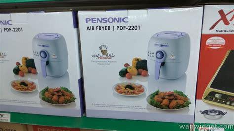 Oven Jenama dapatkan air fryer untuk menggoreng tanpa minyak