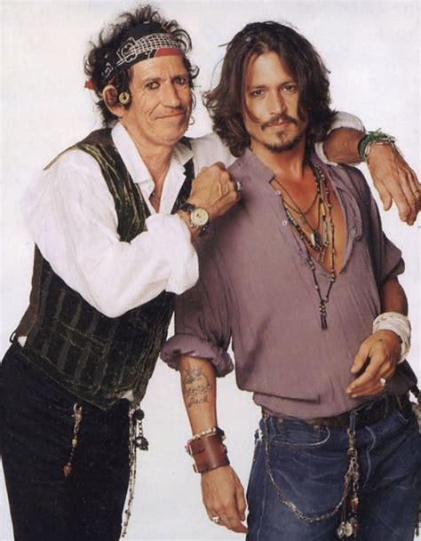 Johnny Keith Richards Do Rollingstone by Johnny Depp And Keith Richards Played And In