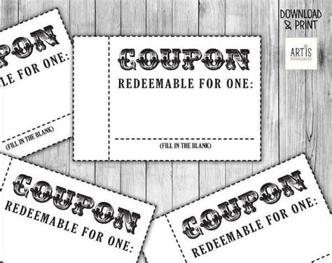 blank coupon template 26 coupon design templates design trends premium psd