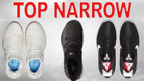 best shoes for with narrow top basketball shoes for narrow