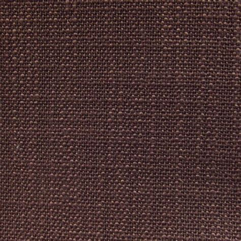 Provincial Upholstery Fabric by Brown Chocolate Linen Designer Upholstery Fabric