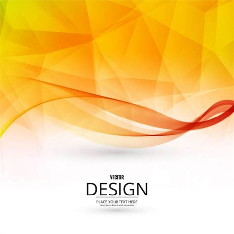 orange and black background design vector free download polygonal background with wavy shapes vector free download