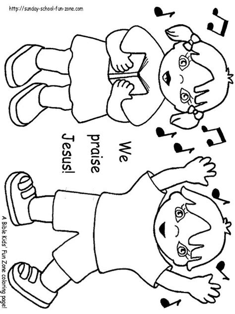 preschool coloring pages cing 17 best images about bible praise the lord on pinterest