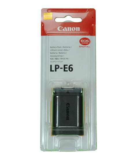 Battery 2 Original canon eos 5d ii lp e6 original battery price in india buy canon eos 5d ii lp e6
