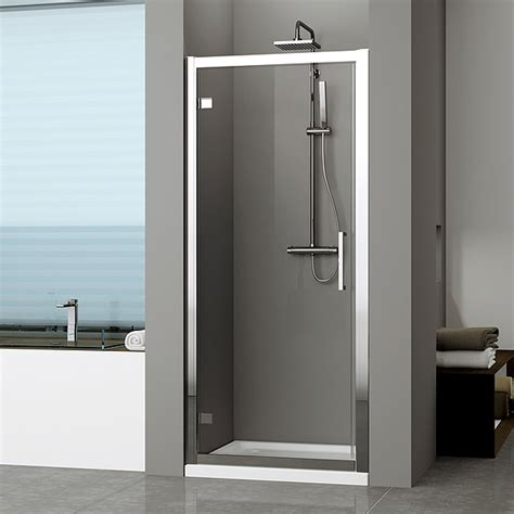 swinging shower door novellini kuadra g hinged shower door 840 chrome finish