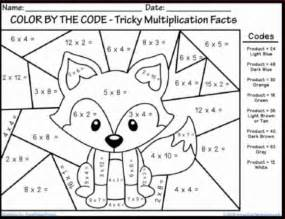 pages for second graders winter multiplication coloring sheets math coloring