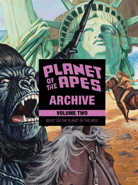 planet of the apes archive vol 2 beast on the planet of the apes books comiclist previews planet of the apes archive volume 2