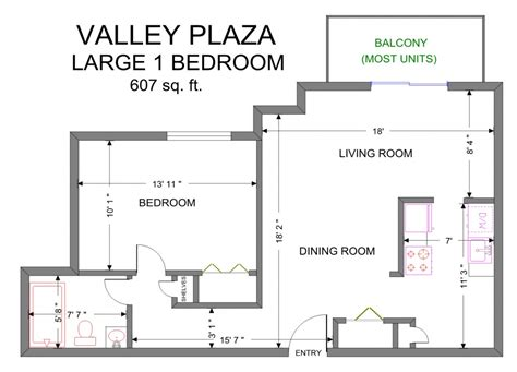 large one bedroom floor plans valley plaza apartment floor plans old brooklyn apartments