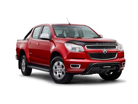 holden car truck 2015 holden colorado storm is a special edition pickup