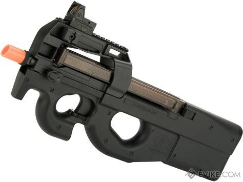 Airsoft Gun P90 fn herstal licensed p90 size metal gearbox airsoft aeg color black gun only evike