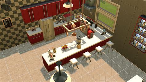 d馗oration bar cuisine am駻icaine salle de bain gris et blanc