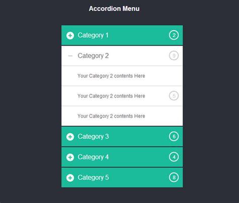 navigation menu templates 40 free responsive css3 jquery navigation menus with live