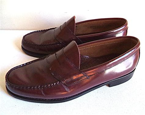 mens bass weejuns loafers s 9 m bass weejuns loafers refurbished brown