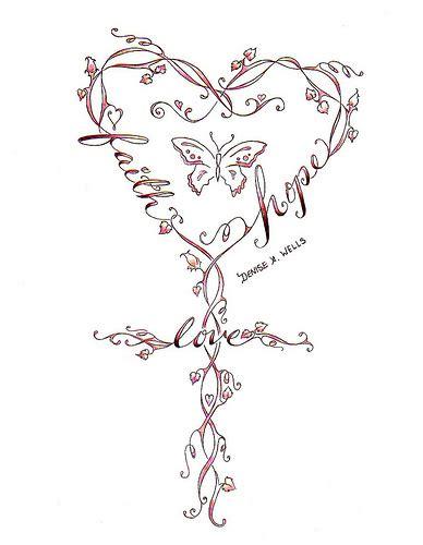 peace love hope tattoo designs design faith and tattoos