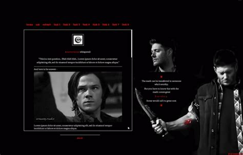 tumblr themes octomoosey hunt down that theme