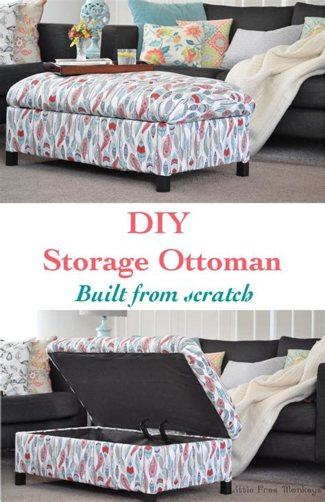 make storage ottoman best 25 diy ottoman ideas on pinterest create button tufted bench and repurposed furniture