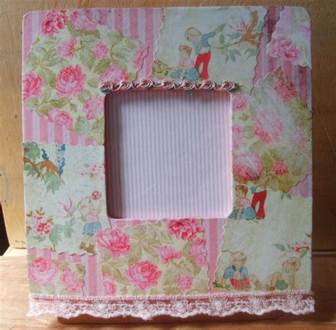 Decoupage Frames - 17 best images about shabby chic vanity inspiration on