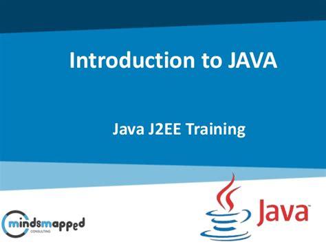 online tutorial on java introduction to java