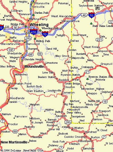 Marshall County Property Records Marshall County West Virginia Maps