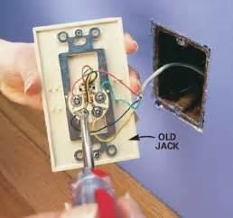 wiring diagram phone jack wiring diagram instruction