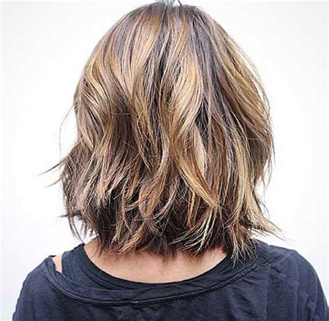 front and back views of chopped hair choppy bob back view hairstylegalleries com