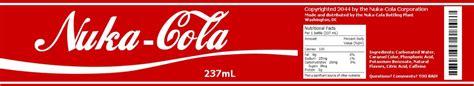 fallout universe nuka cola label i made i m creating