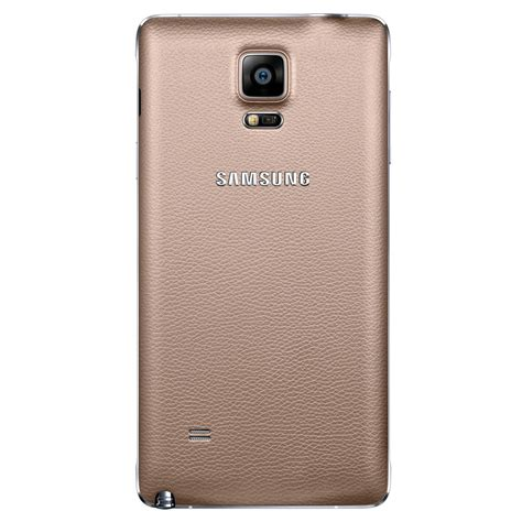 Back Cover Samsung Galaxy samsung back cover for samsung galaxy note 4 bronze gold