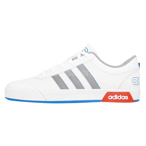 adidas neo label daily 9tis white grey blue mens casual shoes classic sneakers ebay