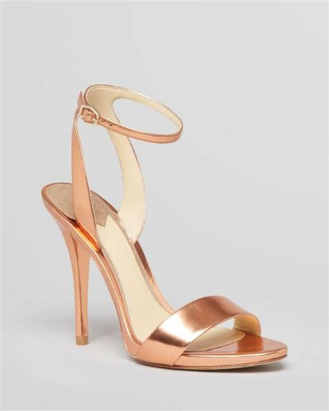 gold high heel sandals evening b brian atwood platform evening sandals catania high heel