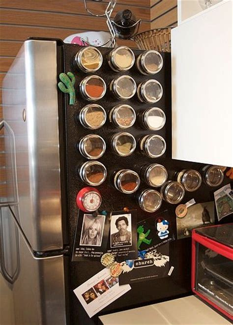Make A Magnetic Spice Rack by How To Make Your Kitchen An Free Area