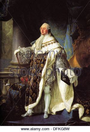 painting of louis xvi king of france and navarre (1754