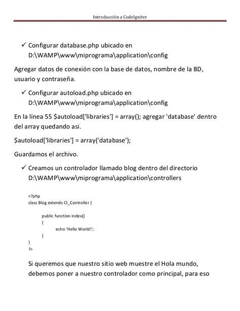 tutorial codeigniter desde cero tutorial codeigniter netbeans 7