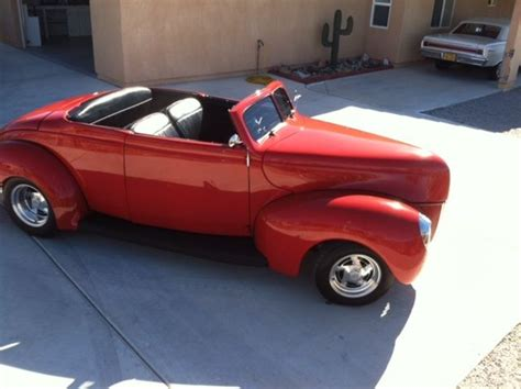 hardtop convertible cars 1940 ford convertible hardtop rod
