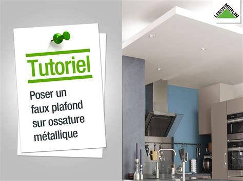 Supérieur Salle De Bain Sans Fenetre Humidite #5: comment-poser-un-faux-plafond-sur-ossature-metallique.jpg