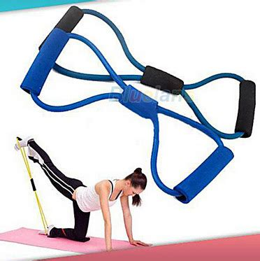 resistance bands workout exercise for 8