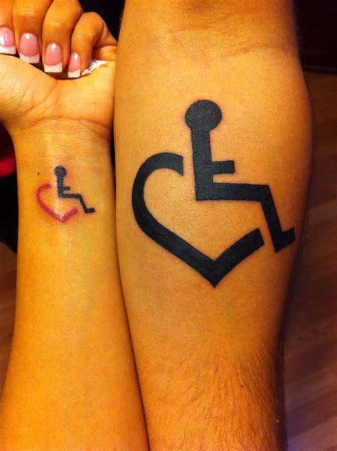 tattoo of us wheelchair 3e love empower embrace educate this tatoo would be