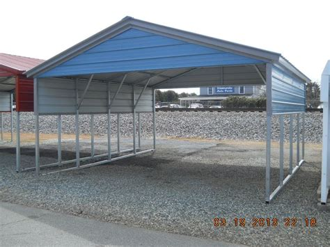 Car Port Roofing by Metal Carports Kansas City Mo Missouri Carports
