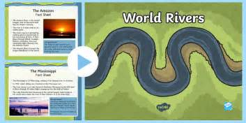 river thames ks2 resources world rivers fact sheets powerpoint rivers rivers
