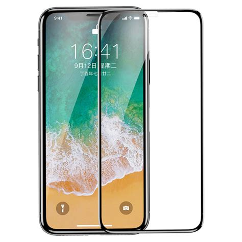 Deal Antigores Baseus Pet Shop 3d Tempered Glass Iphone X 0 23mm baseus pet soft 3d anti blue light tempered glass screen protector with pet for