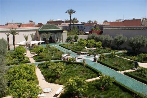 jardin secret l extraordinaire quot jardin secret quot de marrakech m 233 dina