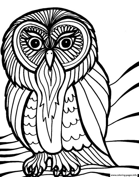 printable scary owl scary halloween owl s8616 coloring pages printable