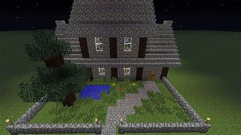 minecraft medium house medieval medium sized house minecraft project